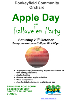 apple day poster 2011