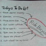 Today's to do list